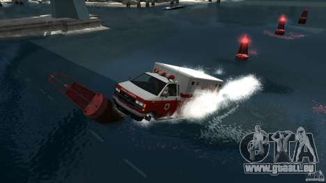 Ambulance boat pour GTA 4