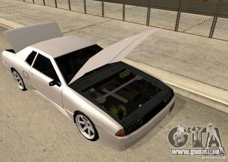 Elegy MIX v2 pour GTA San Andreas vue de droite