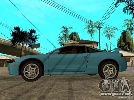 Mitsubishi Eclipse 1998 Need For Speed Carbon für GTA San Andreas linke Ansicht