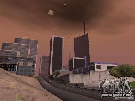 Weather manager pour GTA San Andreas quatrième écran