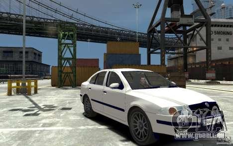 Skoda Octavia II 2005 pour GTA 4 Vue arrière