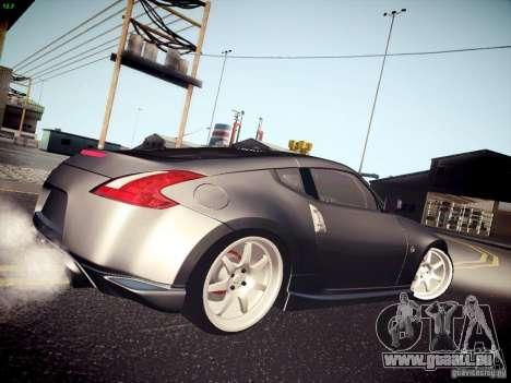 Nissan 370Z Fatlace pour GTA San Andreas laissé vue