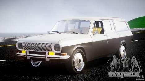 GAZ 24-12 1986-1994 Stock Edition v2.2 pour GTA 4 Vue arrière
