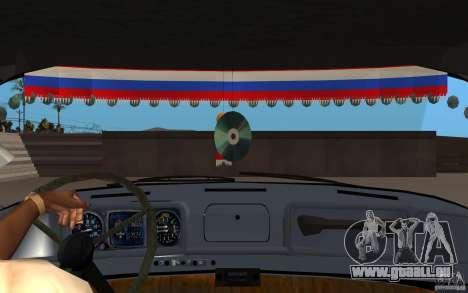 ZIL 130 Radio Butka pour GTA San Andreas vue intérieure
