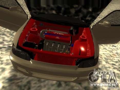 Honda Civic EG6 JDM pour GTA San Andreas vue arrière