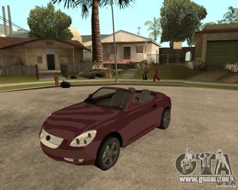 Lexus SC430 pour GTA San Andreas