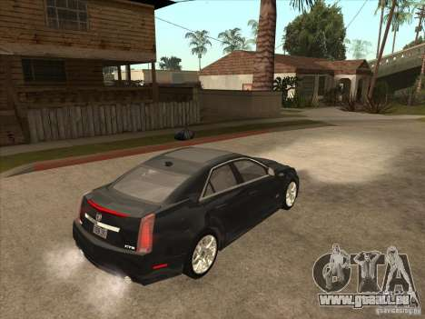Cadillac CTS-V 2009 pour GTA San Andreas vue de droite