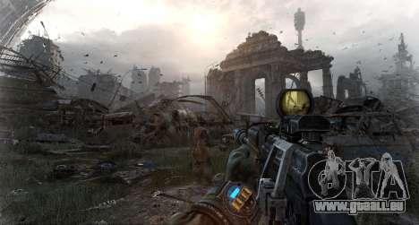 Metro Last Light AK 47 für GTA San Andreas dritten Screenshot