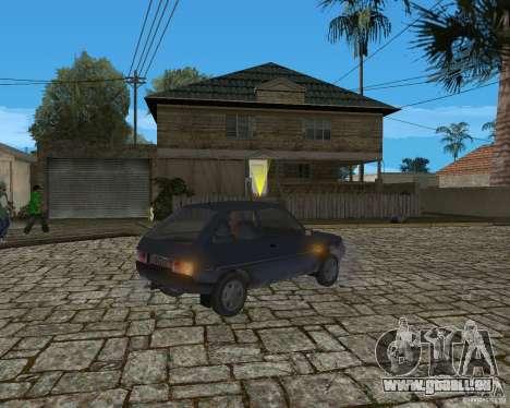 ZAZ 1102 Tavria für GTA San Andreas zurück linke Ansicht