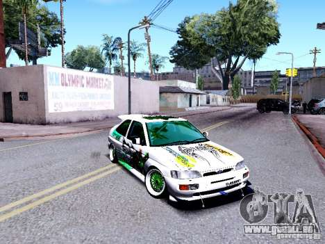 Ford Escort RS 92 Hella pour GTA San Andreas