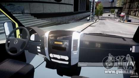 Mercedes-Benz Sprinter PK731 Ambulance [ELS] pour GTA 4 est un droit
