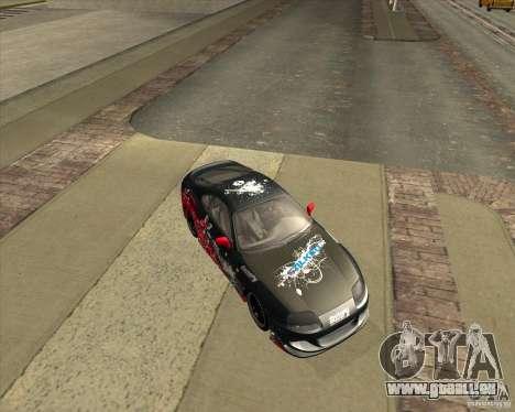 Toyota Supra by Cyborg ProductionS pour GTA San Andreas vue arrière
