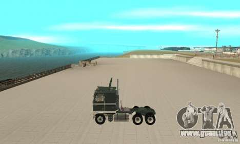 Kenworth K100 USA Standard pour GTA San Andreas laissé vue