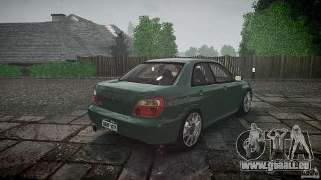Subaru Impreza v2 für GTA 4 Unteransicht