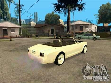 GTA 4 TBOGT Super Drop Diamond für GTA San Andreas rechten Ansicht