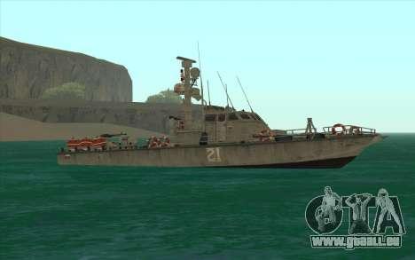 Bateau militaire de CODMW3 pour GTA San Andreas