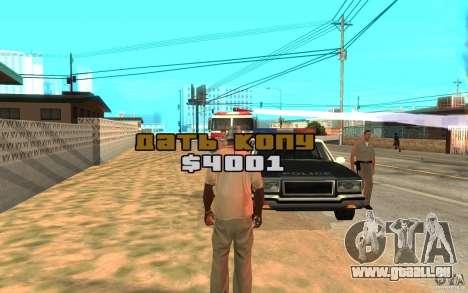 Die Bestechung für GTA San Andreas dritten Screenshot