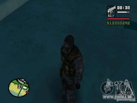 Stalker Söldner in der neuen kombeze für GTA San Andreas her Screenshot