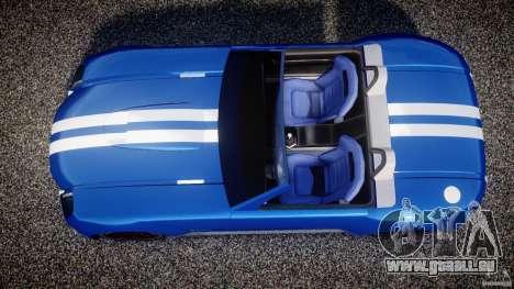 Ford Shelby Cobra Concept pour GTA 4 est un droit