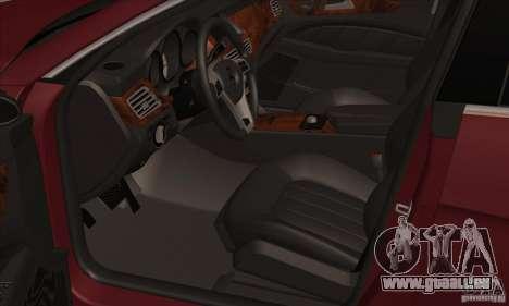 Mercedes-Benz CLS63 AMG 2012 pour GTA San Andreas vue arrière