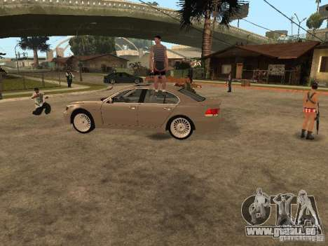 Pati auf Groove Street. für GTA San Andreas zweiten Screenshot