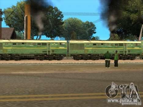 4TÈ10S-0013 pour GTA San Andreas vue de droite