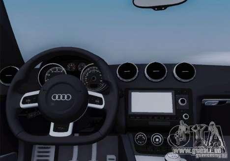Audi TT-RS Coupe pour GTA San Andreas moteur