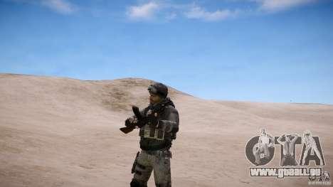 Prix capitaine de COD MW3 pour GTA 4 cinquième écran