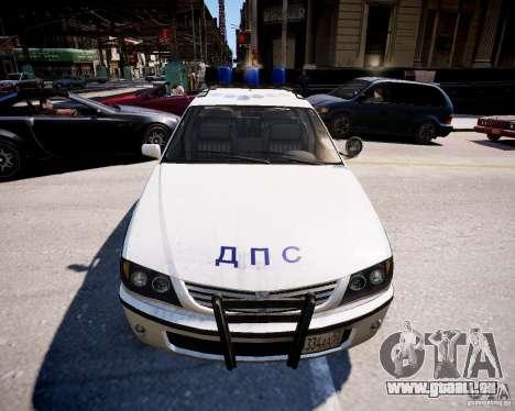 Russian Police Patrol für GTA 4 rechte Ansicht