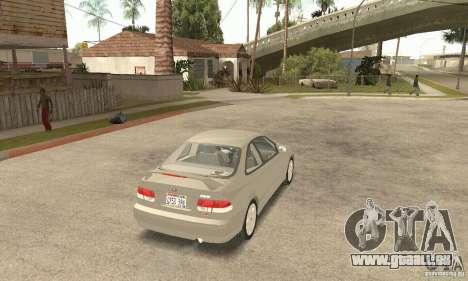 Honda Civic 1998 pour GTA San Andreas laissé vue