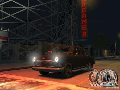Gaz Volga 21 v8 pour GTA 4 Vue arrière