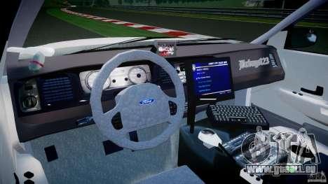 Ford Crown Victoria US Marshal [ELS] für GTA 4 rechte Ansicht