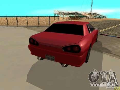 Elegy By w1LD für GTA San Andreas linke Ansicht