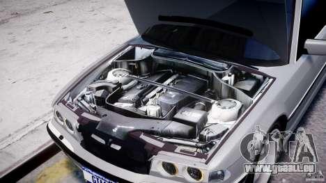 BMW 750i v1.5 pour GTA 4 est une vue de dessous