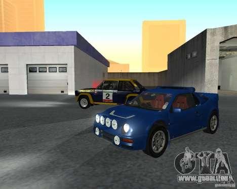 Ford RS 200 für GTA San Andreas linke Ansicht