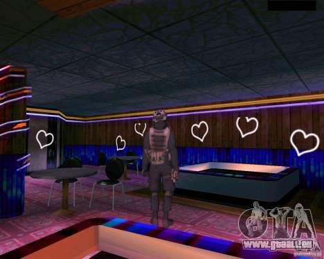 La seconde peau de CoD MW 2 pour GTA San Andreas quatrième écran