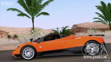 Pagani Zonda F pour GTA San Andreas vue de côté