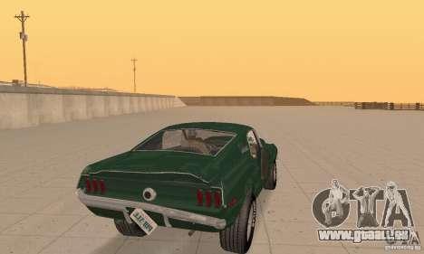 Ford Mustang Bullitt 1968 v.2 für GTA San Andreas Seitenansicht