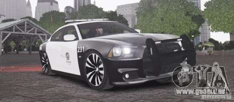 Dodge Charger 2011 Police pour GTA 4