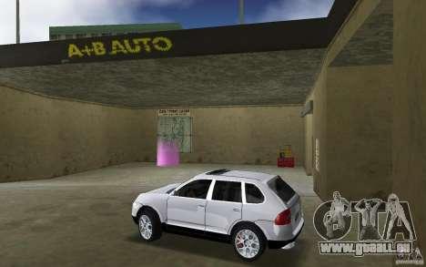 Porsche Cayenne pour une vue GTA Vice City de la gauche