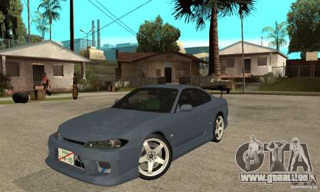 Nissan Silvia S15 Tun pour GTA San Andreas laissé vue