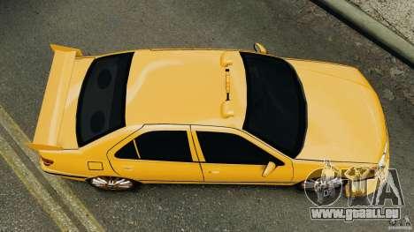 Peugeot 406 Taxi pour GTA 4 est un droit