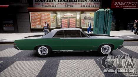 Pontiac GTO 1965 v3.0 für GTA 4 Seitenansicht