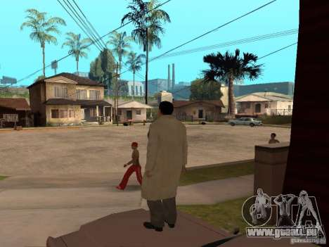 Joe Barbaro de Mafia 2 pour GTA San Andreas troisième écran