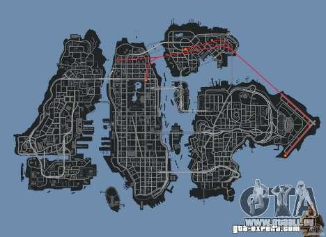 New Map Mod pour GTA 4 septième écran