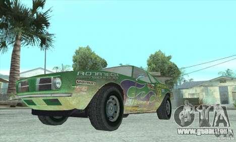 Speedevil de FlatOut pour GTA San Andreas vue intérieure