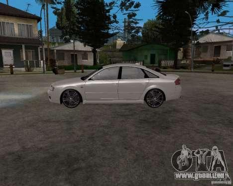 Audi RS6 (A6) pour GTA San Andreas laissé vue