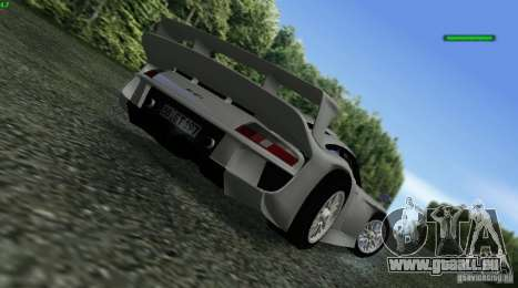 Porsche 911 GT1 Evolution Strassen Version 1997 für GTA San Andreas linke Ansicht