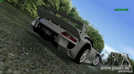 Porsche 911 GT1 Evolution Strassen Version 1997 pour GTA San Andreas laissé vue