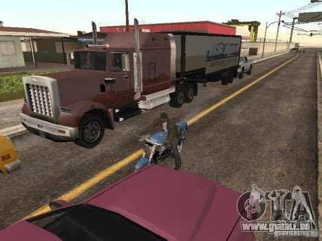 PKW mit Anhänger für GTA San Andreas zweiten Screenshot